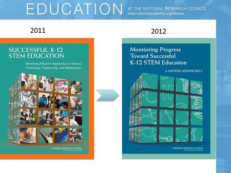 2011 2012. The Need To Improve STEM Learning Successful K-12 STEM is essential for scientific discovery, economic growth and functioning democracy Too.