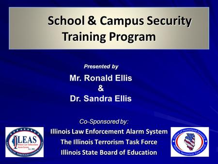 School & Campus Security Training Program
