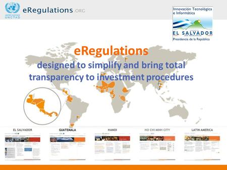ERegulations designed to simplify and bring total transparency to investment procedures.