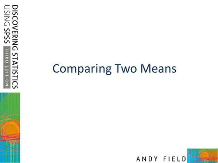 Comparing Two Means.