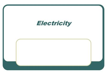 Electricity. Energy Is the ability to do work Comes in 2 main types (but many forms) Potential energy is stored energy like gravity, chemical, nuclear.