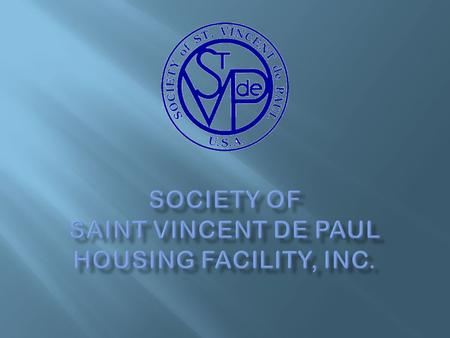 """The Society"" of St. Vincent de Paul Video Runtime: 8:50."