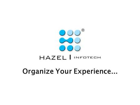 Organize Your Experience.... Correspondence Automation and Management Software.