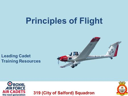 Principles of Flight Leading Cadet Training Resources.