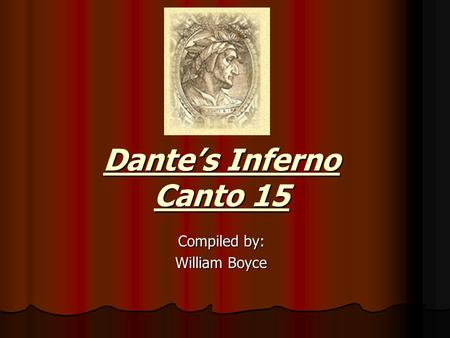 "plot summary for dante s inferno The original poetic masterpiece ""the divine comedy"" that included the theee  volumes of ""inferno, purgitory and paradise"" were written in and."