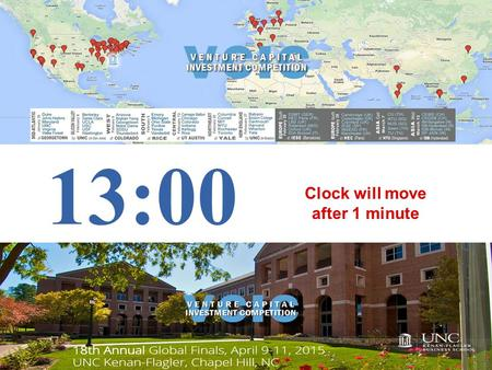 13:00 Clock will move after 1 minute PPT – VCIC Timer 15.ppt.
