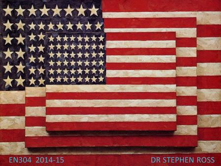 "EN304 2014-15DR STEPHEN ROSS. The Melting Pot ""America is God's Crucible, the great Melting-Pot where all the races of Europe are melting and re-forming!"