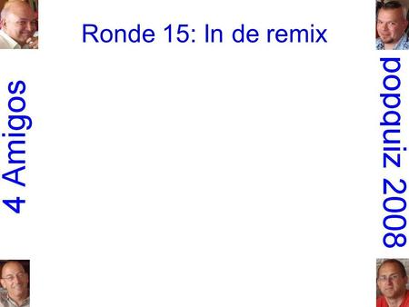 Ronde 15: In de remix. 1.Everything but the Girl: Missing.