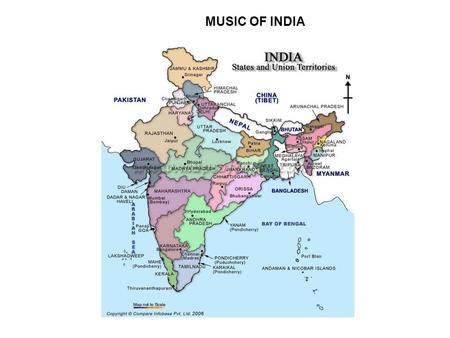 MUSIC OF INDIA. Region of world: South Asia 2 nd most populous country in world (2007: 1.12 billion) Birthplace of 4 major religions (Hinduism, Buddhism,