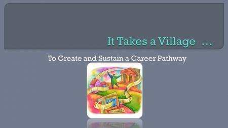 To Create and Sustain a Career Pathway. CTE Works! Summit November 13, 2014.