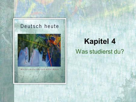 Was studierst du? Kapitel 4. 4 | 2 Copyright © Cengage Learning. All rights reserved. Present tense of werden.