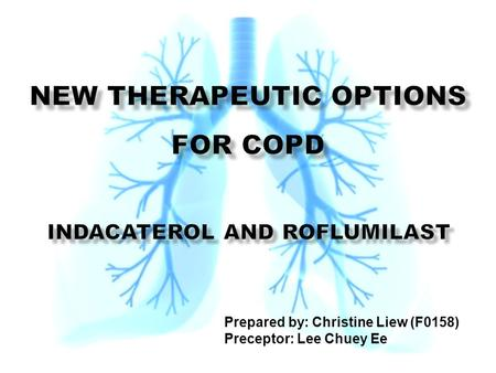 New Therapeutic Options for COPD