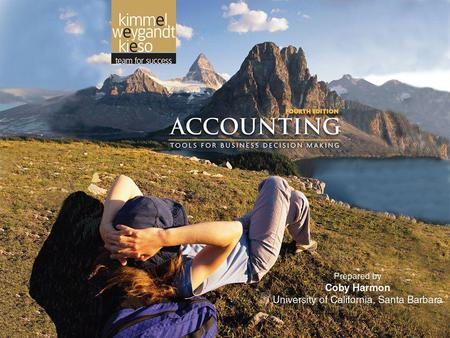 2-1. 2-2 A FURTHER LOOK AT FINANCIAL STATEMENTS Accounting, Fourth Edition 2.