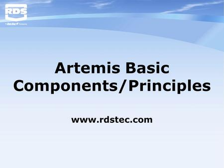Artemis Basic Components/Principles