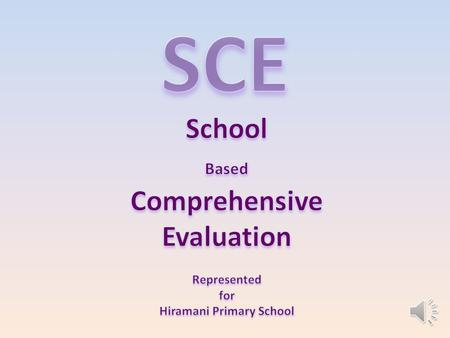 ScholasticEvaluation (Section – I) (Section – I) Co-ScholasticEvaluation (Section – II) (Section – II) = (1) (1) FA (Formative Assessment) (2) (2) SA.
