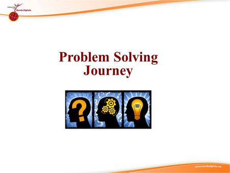 Problem Solving Journey. Didactic Suggestions (1) (I) Try to start by connecting with the current state of knowledge and experience of the individual.