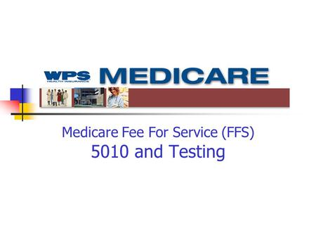 Medicare Fee For Service (FFS) 5010 and Testing. Purpose of Today's Call Discuss readiness Transactions and errata Testing requirements and procedures.