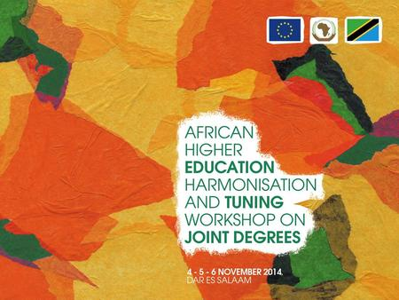 Discussion and preparation of ideas for Tuning Africa II (2015 – 2017) Julia González and Pablo Beneitone University of Deusto.