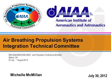 Air Breathing Propulsion Systems Integration Technical Committee