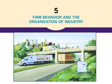5 FIRM BEHAVIOR AND THE ORGANIZATION OF INDUSTRY.
