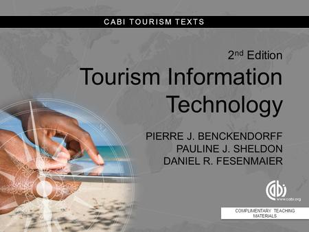 The Future of Information Technology and Tourism