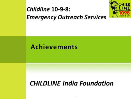 CHILDLINE India Foundation