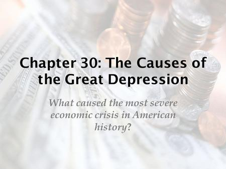 a description of the great depression as one of the most misunderstood events in american history The great depression blacks in the depression and the new deal the great depression of the 1930s worsened the already black economic it was an extremely poor and desperate time for most african americans the black american's economic struggles sparked major political developments.