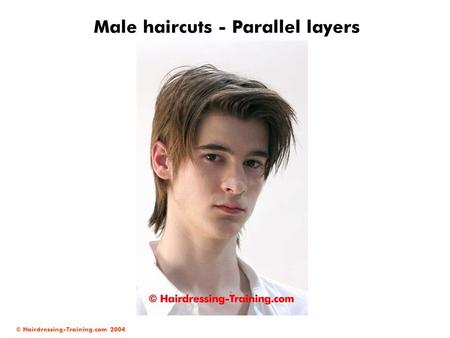 Male haircuts - Parallel layers