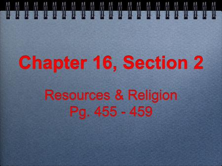 how is religion presented in chapter Chapter 7: religion, science and popular culture the survey asked muslims about their views on various dimensions of contemporary life muslims see few tensions between their faith and life in the modern world.