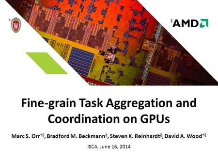 Fine-grain Task Aggregation and Coordination on GPUs