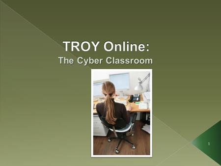 1. There is a very common misconception about distance learning claiming that online courses are easy. This is not the case at Troy University. Our online.