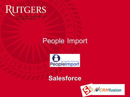 People Import Salesforce