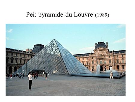 Gnaw artist janine antoni dates 1992 medium chocolate and lard ppt down - Pyramide du louvre pei ...