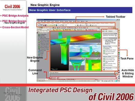 New Graphic Engine New Graphic User Interface Tabbed Toolbar