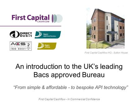 An introduction to the UK's leading Bacs approved Bureau