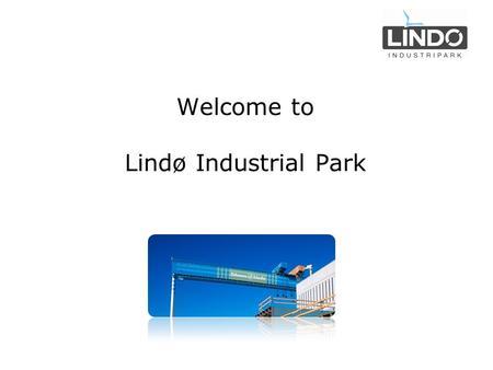 Welcome to Lindø Industrial Park