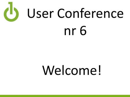 User Conference nr 6 Welcome!. Program 13:00Welcome! 13:10 What is this thing – FileMaker? 13:20 What about Fertsoft? 13:30 What ToDo 13:45 Fast typing.