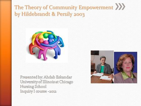The Theory of Community Empowerment by Hildebrandt & Persily 2003