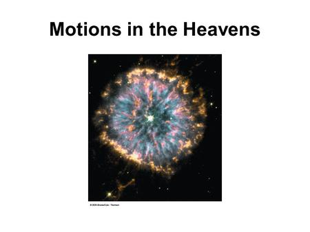 Motions in the Heavens. Earth rotates on its axis and simultaneously revolves or orbits around the Sun. Which of these two motions is responsible for.