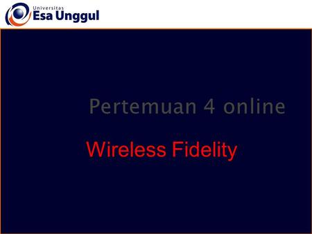 Wireless Fidelity.  Short for wireless fidelity.  It is a wireless technology that uses radio frequency to transmit data through the air.  Wi-Fi is.