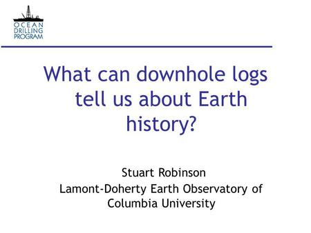 an introduction to the history of the lamont doherty earth observatory Maurice ewing and the lamont-doherty earth observatory by laurence lippsett the geochemists were poised to unleash modern postwar chemistry techniques and equipment to study the history and causes of climate change on earth.
