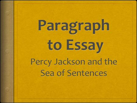 The Complete Paragraph  Topic Sentence  Supporting details (Three is a good number.)  Concluding Sentence.
