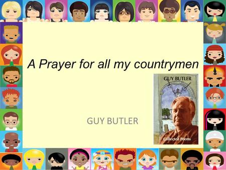 A Prayer for all my countrymen