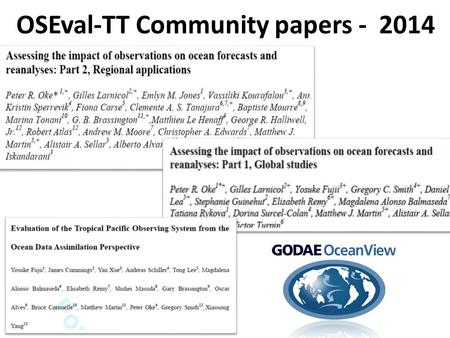 OSEval-TT Community papers - 2014. Talk Outline  Engagement  Summary of community papers  Types of studies  Types of analyses  Questions asked 