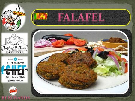 If you're like I was and have never had falafel, they're actually pretty simple: a ball/patty of coarsely ground, dried chickpeas with a mix of herbs,