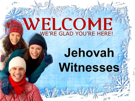 Jehovah Witnesses. Founded by Charles Russell/Joseph Rutherford in 1879 in America.