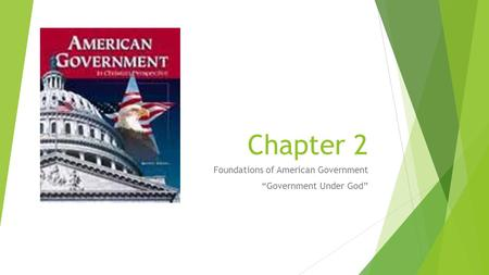 "Foundations of American Government ""Government Under God"""