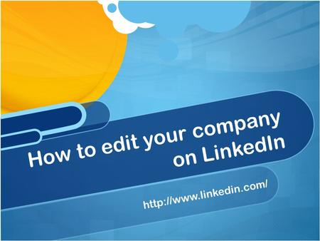 How to edit your company on LinkedIn.