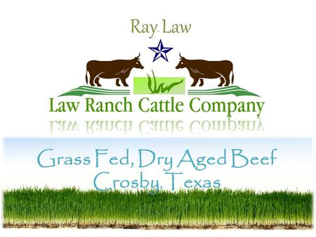 Grass Fed, Dry Aged Beef Crosby, Texas Ray Law. What is Grass Fed or Pasture Fed Beef? Put simply, American grass fed beef is exactly that--cattle that.