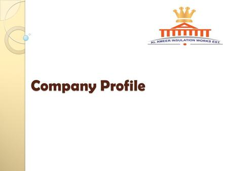 Company Profile. We are specialized contractor and material supplier for the building & Environmental Protection System. Our main activities are as.